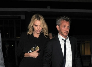 "Charlize Theron Opens Up About Sean Penn Romance, ""I'm A Very, Very Lucky Girl"""