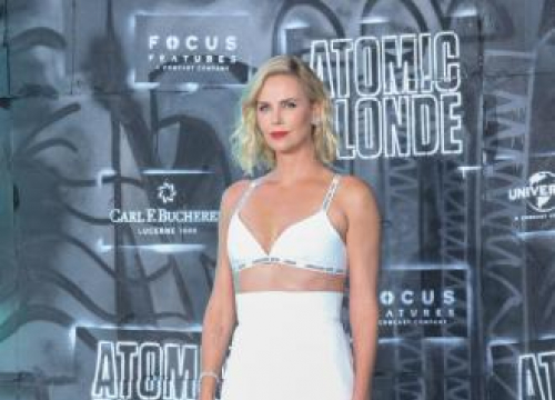 Charlize Theron Pretended Dad Didn't Die