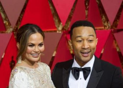 John Legend Worried He'd Wreck Chrissy Teigen's Dress