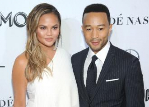 John Legend Says Chrissy Teigen Gets 'Devilish Look' Before Funny Tweets
