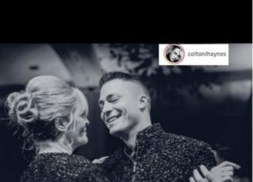Colton Haynes Mourns Mother