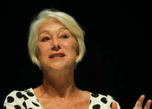 Dame Helen Mirren: Insecurity Is A 'Worm In The Brain'