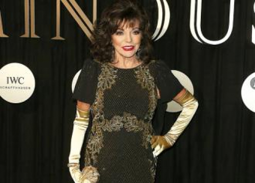 Dame Joan Collins Doesn't Follow Trends