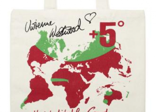 Dame Vivienne Westwood Designs London Fashion Week Festival Tote