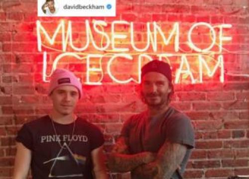 David And Victoria Beckham Treat Kids To Ice Cream Museum