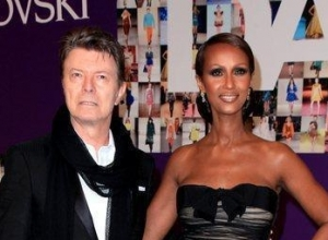 David Bowie's Widow Iman Breaks Her Social Media Silence Following Husband's Death