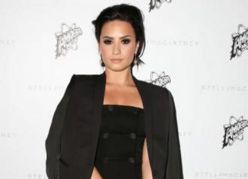 Demi Lovato's Tribute To Dog