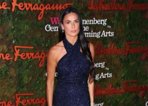 Demi Moore given up on men?