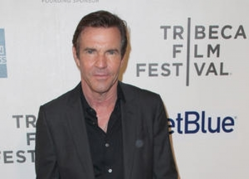 Dennis Quaid Romancing Young Model