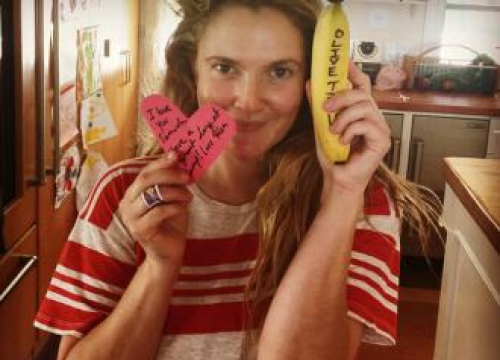 Drew Barrymore Leaves Heartfelt Notes In Her Children's Lunch Boxes Every Day