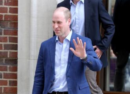 Prince William Leaves St Mary's Hospital Following Royal Birth