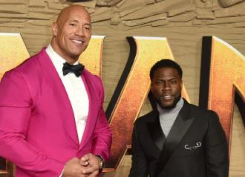 Kevin Hart Says Jumanji: The Next Level Cast Brought Their A-game