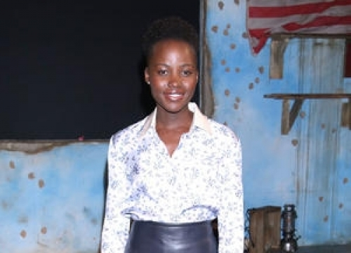 Lupita Nyong'o Dating Fashion Editor