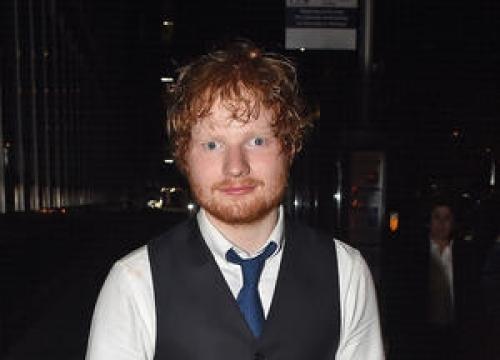 Ed Sheeran Buys Pig-shaped Statue Of Himself