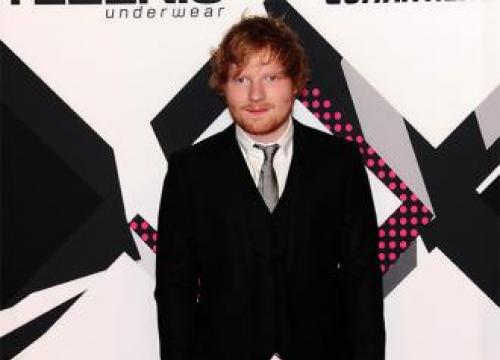 Ed Sheeran Bought Lego To Celebrate Number One Album