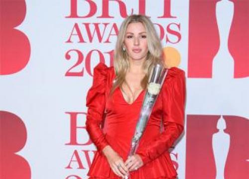 Ellie Goulding Needs Pre-show Drink
