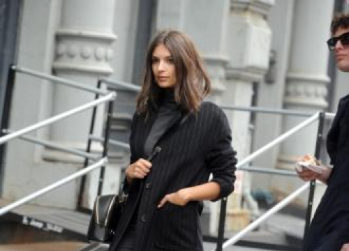 Emily Ratajkowski: 'Fashion Was Very Intimidating To Me At First'