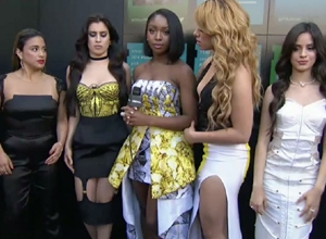 Fifth Harmony - Red Carpet Interview (2015 Billboard Music Awards) Video