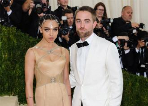 Robert Pattinson And Fka Twigs 'Kind Of' Engaged