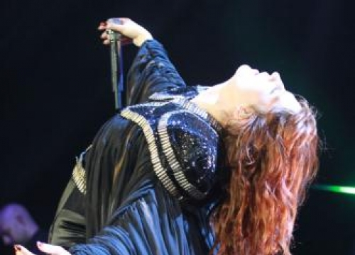 Florence Welch's protective cape