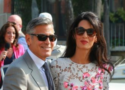 George Clooney's proposal was 'completely unexpected'