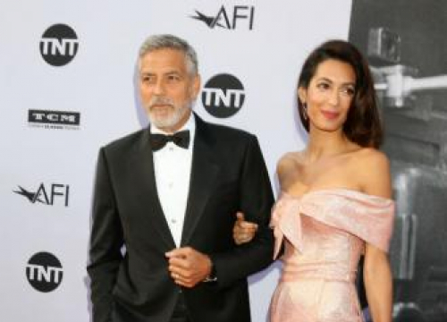 George And Amal Clooney Donate $100k To Migrant Charity