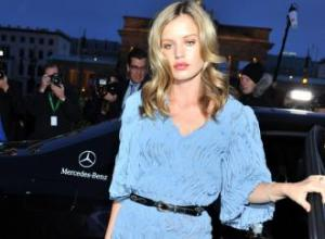 Georgia May Jagger borrows clothes from Jerry Hall