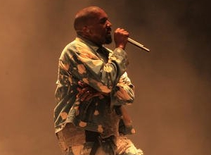 Mixed Reviews, Lots Of Lights And A Stage Invader! It's Kanye West At Glastonbury