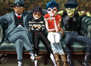 Gorillaz Perform 'Let Me Out' Live On The Late Show As 'Humanz' Drops