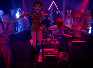 Gorillaz - Strobelite Video
