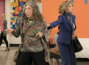 Netflix Comedy 'Grace And Frankie' Renewed For Fourth Season; Lisa Kudrow Joins Cast