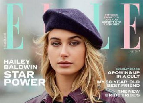 Hailey Baldwin Bought Prada Boots With Her First Pay Slip