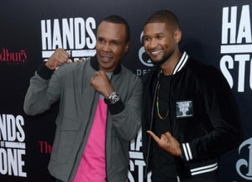 Usher Got Sugar Ray Leonard's Approval For Hands Of Stone