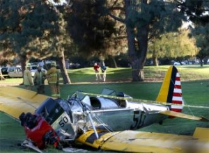 Harrison Ford's 'textbook landing' saved his life