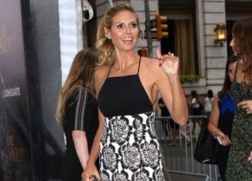 Heidi Klum Likes To See 'More Cleavage And Less Bra'