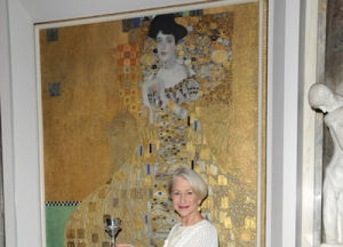 Helen Mirren Honoured For Woman In Gold Role