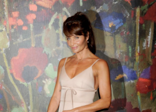 Helena Christensen Exercises For Pasta And Cheese