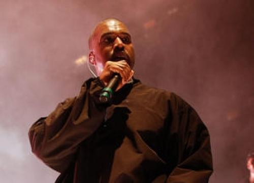 Kanye West Surprises At Chance The Rapper's Festival