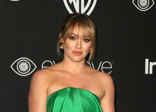 Hilary Duff Returns To Wedding Night Ranch With New Man