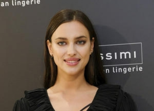 Irina Shayk Recreates Sexy Ghost Pottery Wheel Scene For Online Advent Campaign