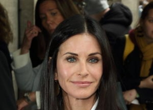 Courteney Cox Adopts More Relaxed Attitude To Ageing