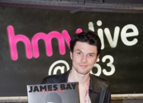 James Bay Makes A Vow To Stick Around For Years To Come At HMV Signing