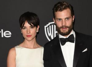 Jamie Dornan Wins Hearts With Glorious Beard At The Golden Globe Awards