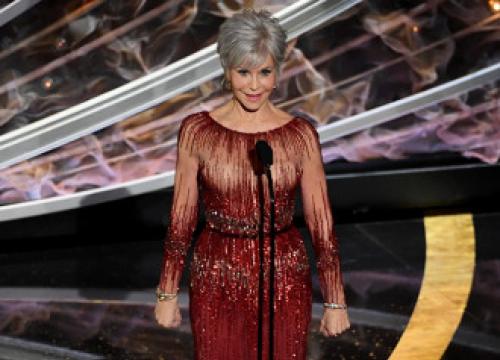 Jane Fonda Is 'so Happy' With Grey Hair