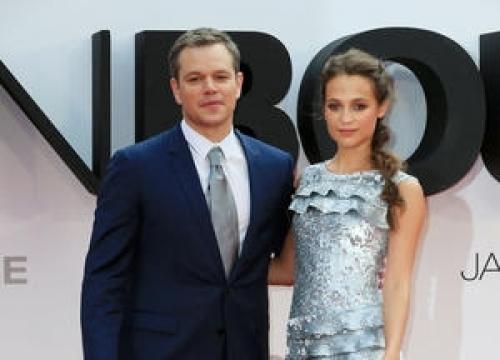 Matt Damon: 'The Sky's The Limit For Alicia Vikander'