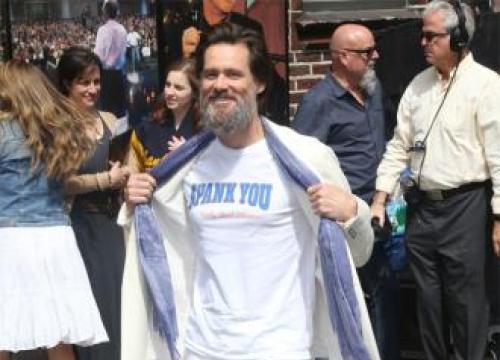 Jim Carrey's Beard Is 'A Bigger Star' Than Him Now