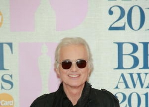 Jimmy Page Continues Planning Battle With Robbie Williams