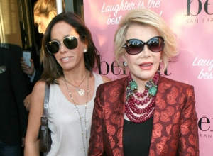 Melissa Rivers To Release 'The Book of Joan: Tales of Mirth, Mischief And Manipulation' Honouring Late Mother
