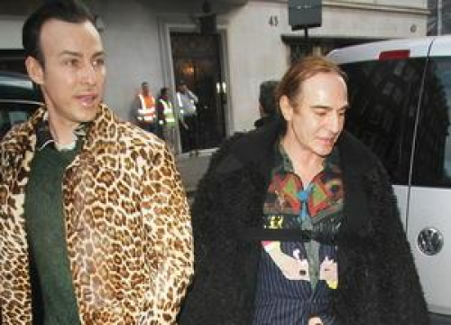 John Galliano Makes A Return To High-End Fashion