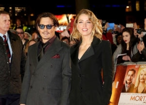 Johnny Depp Jokes About Australian Dog Drama
